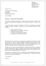 Cover Letter Cabin Crew Sample
