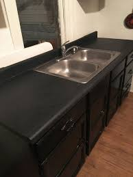 How to Remodel a Laminate Countertop to Look Like Stone