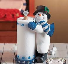 Mr Jingles Christmas Trees West Palm Beach by Snowman Winter Christmas Standing Paper Towel Holder