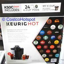 Keurig K50C Coffee Maker With 24 K Cup Pods Costco