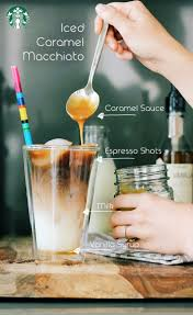 Pumpkin Spice Caramel Macchiato by Iced Caramel Macchiato Recipe For A 16oz Cup Add 3 Pumps Of