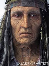 exclusive the of johnny depp s lone ranger age make up