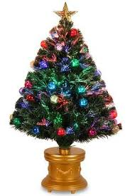 Small Fibre Optic Christmas Trees Sale by Homebrite 18