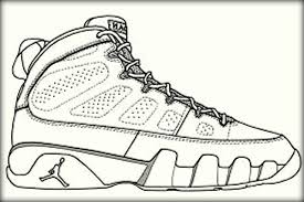 Nike KD Basketball Shoe Printable Sheets