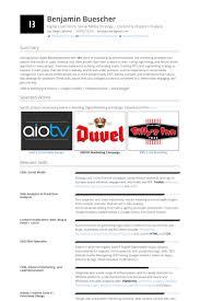 Best Solutions Of Internet Marketing Resume Templates Lovely Online Samples Visualcv Database