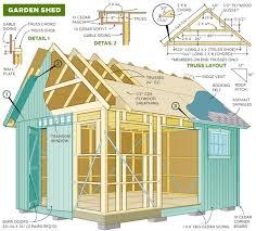 71 free garage workshop and carport plans and diy building guides