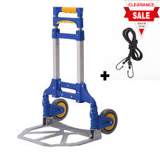 Portable Folding Aluminum Hand Truck Luggage Carts Dolly Heavy Duty ... Alinum Hand Trucks Cobra Lite Continuous Handle Truck Elegant 20 Images Wesco New Cars And Wallpaper Vestil Platform Roughneck Convertible 3position Handplatform 550 2 In 1 Best 2017 R Us Folding Item 29063 Magliner Hmk111am1c5 Two Wheel With Stair Climbers Vevor 770lb 61 Height Steel Moving Supplies The Home Depot Suppliers And Twowheel Straight Back Hmac16g2e5c Bh