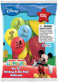Mickey Mouse Bathroom Set Amazon by Amazon Com Disney Mickey And His Pals Balloons 12