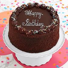 Send Three Layer Chocolate Happy Birthday Cake To USA – Courier pany Karachi Pakistan Cakes Flowers Gifts