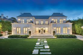 100 Architecturally Designed Houses Palatial Luxury Mansion In Melbourne With Classical French