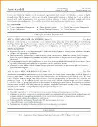 Resume Examples Umd Packed With Best Ideas Of Event Coordinator Sample