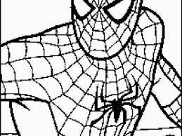 Coloring Pages Spiderman Free Printable