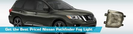 nissan pathfinder fog light fog lights crash philips