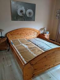 schlafzimmer komplett kiefer massivholz bett kleiderschrank