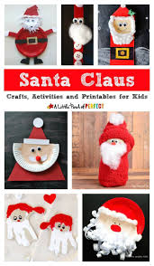 Kids Will Absolutely Love Celebrating The Season With A Great List Of Fun Santa Claus Crafts