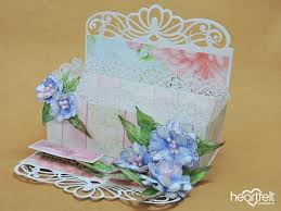 EZ Step By Tutorial Decorative Floral Tea Box