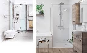 neue dusche für das bad mit obi planen obi badplaner