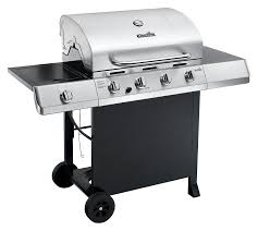 barbecue cuisine amazon com char broil 4 burner gas grill with side