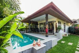 RAW6831 e Bedroom Luxury Bungalow with Private Pool in Rawai