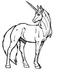 Easy Unicorn Drawing To Draw In Pencil Go With A How Rhartpediaco Cartoon Animals An Cute