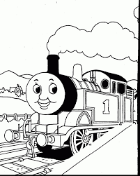 Thomas The Tank Engine Coloring Page 202 Best Coloriages Thomas Le