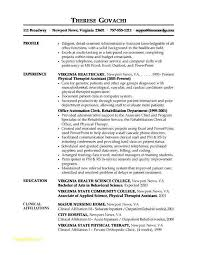 Medical Assistant Resume Objective Examples Entry Level New For Field