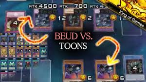 yu gi oh duel links king of games toon world relinquished