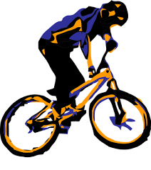 Downhill Biking Clipart Jpg Transparent Download