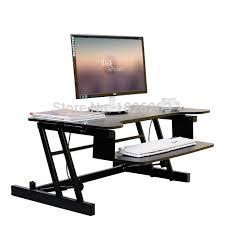 bureau ergonomique r lable en hauteur ergonomique easyup hauteur réglable sit stand riser bureau pliable