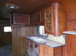 1940s Schult Travel Trailer Interior