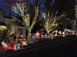 Christmas Tree Lane Fresno by Best Christmas Lights And Holiday Displays In Martinez Contra