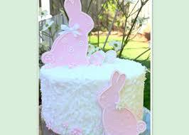 Springtime Bunnies A Cake Tutorial