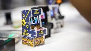 Mame Arcade Machine Kit a tiny playable arcade cabinet kit