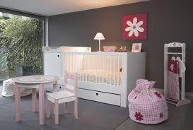 chambre bébé fille et gris decoration chambre bebe fille gris et