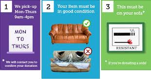 Sofa Pick Up Donations Donate Furnitureitems South Shropshire Furniture Scheme Extra Long Sofa Slipcover