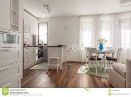 neues modernes wohnzimmer mit küche neues haus