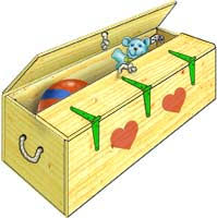 How To Make A Toy Chest by How To Build A Toy Box Step By Step