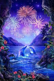 100 Christian Lassen Prints 33129611 Fireworks In Paradise