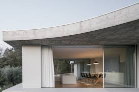 104 Architecture Of House Bdarquitectura Designs Minimal With Flat And Curved Forms In Portugal Ignant