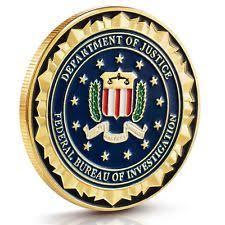 fbi bureau of investigation federal bureau of investigation fbi challenge coin ebay