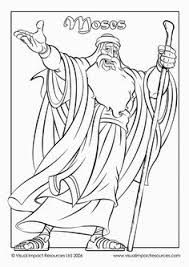 Moses Coloring Pagesgood Page Could Be Colored Cut Out And