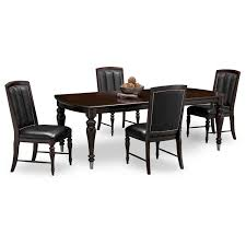 100 Cherry Table And 4 Chairs Esquire And American Signature Furniture
