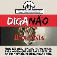 Boycott Campaign To Telenovela In The Poster Says Say No Do Not Give Your Ratings Another Soap Opera Created Destroy Values Of Brazilian