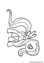 A Fluttershy My Little Pony Coloring Pages
