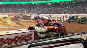 100 Monster Trucks Atlanta Jam In Georgia Dome GA 2013 Full Show Episode