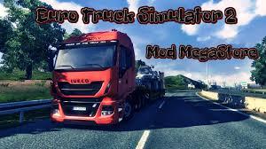 100 Megastore Truck Euro Simulator 2 Mod MegaStore Iveco YouTube