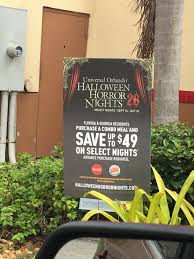 Halloween Horror Nights Promo Codes 2017 by Burger King Halloween Horror Nights 2013 Bootsforcheaper Com