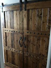 Interior Double Barn Door Package