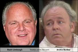Archie Bunker Chair Quotes by Rush Limbaugh Totally Looks Like Archie Bunker Look A Likes