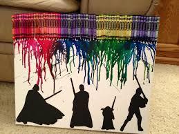 Star Wars Crayon Art